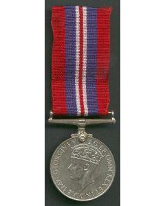 BRITISH WWII WAR MEDAL