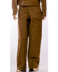 BRITISH WW2 1937 BATTLE DRESS WOOL TROUSERS