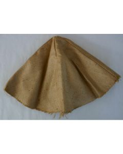 WW11 BURLAP HELMET COVER POST WAR CAN BE USED TO CAMOUFLAGE ANY HELMET
