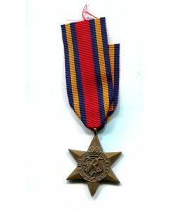 CANADIAN  BRITISH WW2 BURMA STAR MEDAL FOR ACTIVE SERVICE AGAINST THE JAPANESE IN ASIA