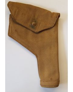 CANADIAN WWII CANVAS 1940 WEBLEY HOLSTER