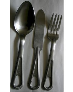 AMERICAN FORK, KNIFE AND SPOON SET WWII