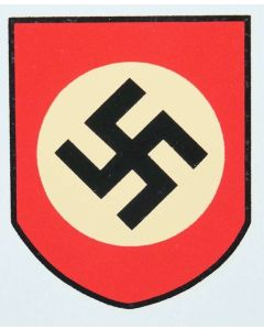 NATIONAL SOCIALIST PARTY SHIELD HELMET DECAL