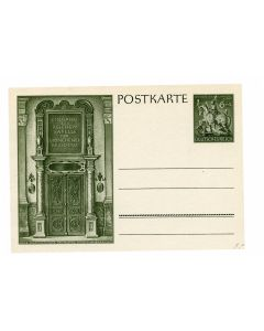 Eingang zur Reichen Kapelle der Münchner Residenz Postcard
