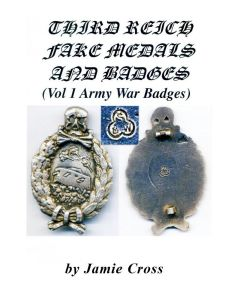 THIRD REICH FAKE MEDALS AND BADGES BOOKLET ww11