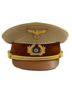 HITLER VISOR CAP TAN