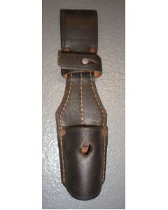 GERMAN BLACK LEATHER LATE PRODUCTION FROG WWII