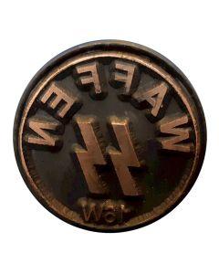GERMAN WWII WAFFEN SS WOODEN HAND STAMP