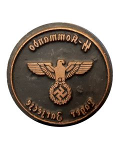 GERMAN  WWII  SS COMMANDO INK STAMP