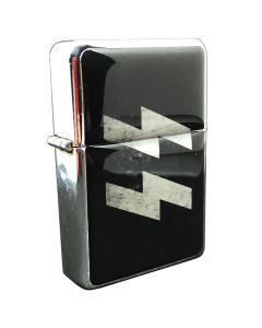 BLACK SS LIGHTER WITH SS RUNES -REPRODUCTION