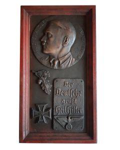 Adolf Hitler plaque der deutsche gruft heil Hitler Reichskanzler Adolf  Hitler