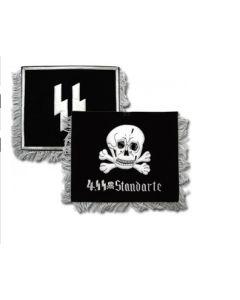 GERMAN 4th SS STANDARTE TRUMPET BANNER