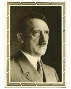 GERMAN ADOLF HITLER POSTCARD