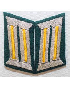 GERMAN AFRIKA CORPS OFFICER COLLAR TABS