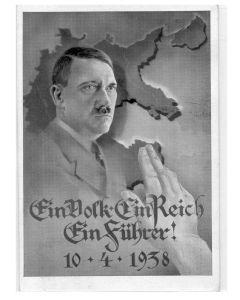 GERMAN ANSCHLUSS POSTCARD