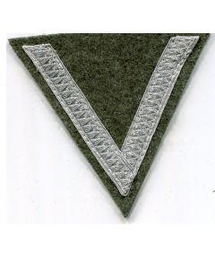 GERMAN ARMY GEFREITER CORPORAL RANK CHEVRON