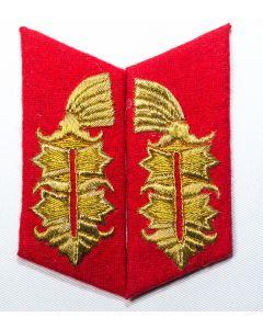GERMAN ARMY GENERAL COLLAR TAB