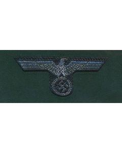GERMAN ARMY OFFICER CAP EAGLE BEVO