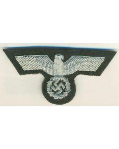 GERMAN ARMY OFFICERS CAP EAGLE