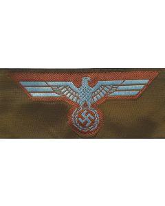 GERMAN ARMY/HEER EM CAP EAGLE BEVO HAT BADGE