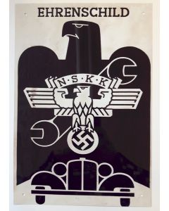 GERMAN EHRENSCHILD METAL SIGN