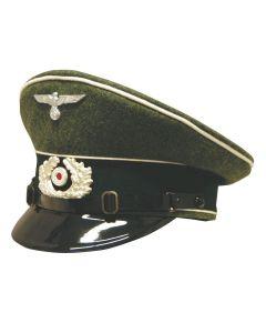 GERMAN EM ARMY INFANTRY VISOR CAP