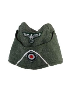 WH ENLISTED M38 FIELD CAP WITH SOUTASCHE