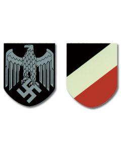 GERMAN HEER HELMET DECA