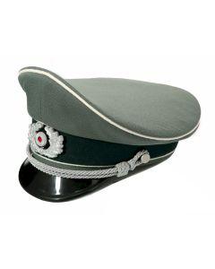 GERMAN HEER OFFICER VISOR CAP