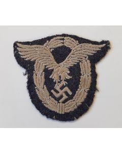 GERMAN LUFTWAFFE ENLISTED MAN / NCO'S CLOTH PILOTS BADGE