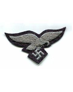 GERMAN LUFTWAFFE OFFICERS BULLION BREAST EAGLE INSIGNIA