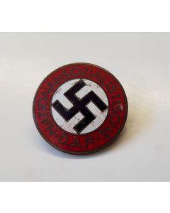 GERMAN NSDAP MEMBERSHIP BADGE RZM M1/ 105