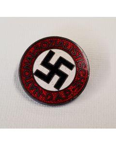 GERMAN NSDAP MEMBERSHIP PARTY BADGE RZM M1/101