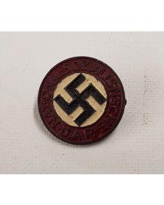 GERMAN NSDAP MEMBERSHIP PARTY BADGE RZM M1/77