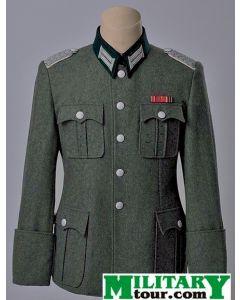 German WW2 Officer M36 Wool Combat Tunic