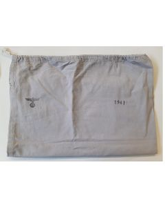 GERMAN PERSONAL EFFECTS BAG STAMPED 1941