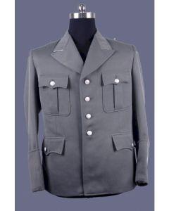 GERMAN SS FIELD GREY OFFICERS SERVICE JACKET