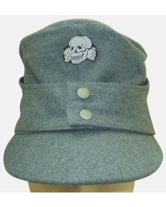GERMAN WAFFEN SS M-43 CAP Field Grey
