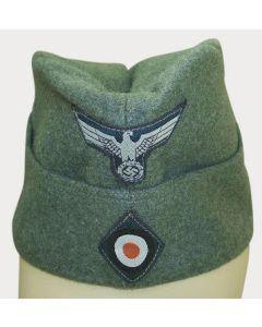 GERMAN WH ARMY OFFICER M34 HEER SIDE CAP