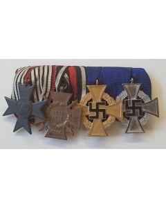 GERMAN WW1 MERIT CROSS FOR WAR AID MEDAL BAR