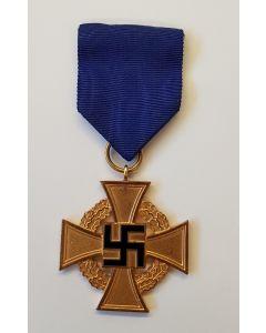 GERMAN WW2 40 YEAR FAITHFUL SERVICE CROSS