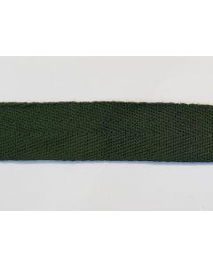 GERMAN WW2 COTTON TWILL CLOTH SEAM TAPE DARK GREEN