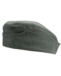 GERMAN WW2 M38 SIDE CAP  FIELD GREY WOOL