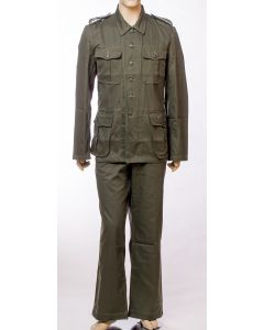 GERMAN WW2 M40 HBT TUNIC AND PANTS
