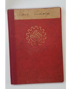 GERMAN WWII ORIGINAL DAF DEUTSCHE ARBEITSFRONT WORKBOOK