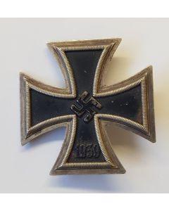 GERMAN WWII ORIGINAL IRON CROSS 1ST CLASS 1939
