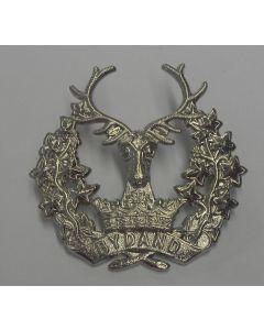 BRITISH GORDAN HIGHLANDERS CAP BADGE WW2