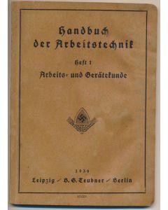 HANDBUCH DER ARBEITSTECHNIK HEFT