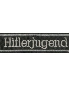HITLERJUGEND 12.SS DIVISION CUFF TITLE