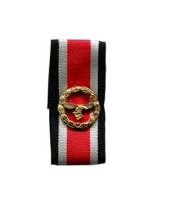 GERMAN LUFTWAFFE HONOR ROLL CLASP WITH RIBBON